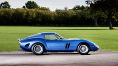 This blue Ferrari 250 GTO is available from British prestige car specialist Talacrest, with a price...