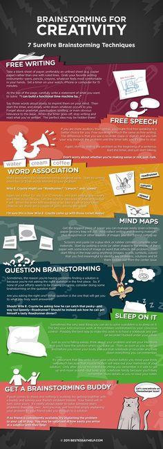 Brainstorming for Creativity: 7 surefire brainstorming techniques