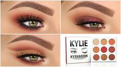 3 Looks 1 Palette | KYLIE COSMETICS: THE BURGUNDY PALETTE