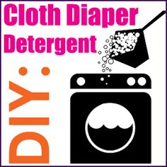 DIY Detergent for #ClothDiapers