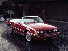 1983 Ford Mustang.