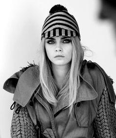 Cara Delevigne for Burberry