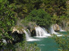 www.mirecreo.com Laguna Batana, Lagunas de Ruidera,  Ruidera, Ciudad Real #cascadas #CastillaLaMancha #CiudadReal #turismo #mirecreo #Ruidera #LagunasDeRuidera #Spain #Tourism