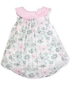 Baby Essentials Baby Girls' Butterfly Bubble Romper