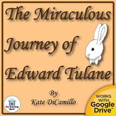 The Miraculous Journey of Edward Tulane Novel Study Book Unit