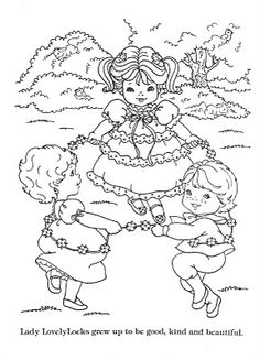 Ice cream coloring pages kawaii and coloring pages on for Lady lovely locks coloring pages