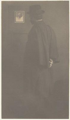 Frederick H. Evans by Edward J. Steichen (American (born Luxembourg), Bivange 1879–1973 West Redding, Connecticut) Date: 1900–1901 Medium: Platinum print