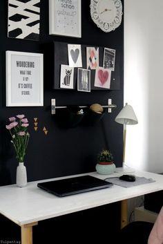 Home Office - neue Bilder aus dem Büro - Tulpentag. Der Blog #deko #interior…