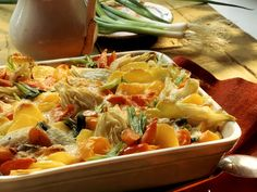Buntes Gemüsegratin mit Kartoffeln - smarter - Zeit: 1 Std. 15 Min…