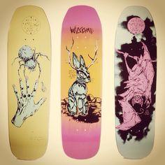 Welcome Skateboards are just so god damn tasty
