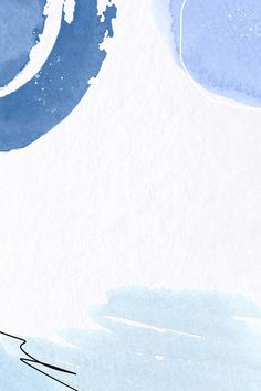 Download premium illustration of Blue Memphis watercolor textured
