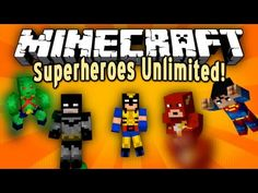 Minecraft Mod Showcase - Superheroes Unlimited!