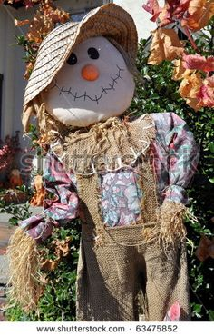 Arts and crafts scarecrow