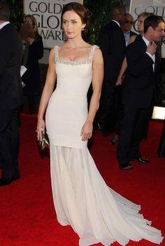 Emily Blunt : Best Golden Globe Dresses Ever