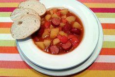 Ungarische Kartoffelsuppe 2