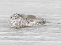 1.04 Carat Edwardian Engagement Ring