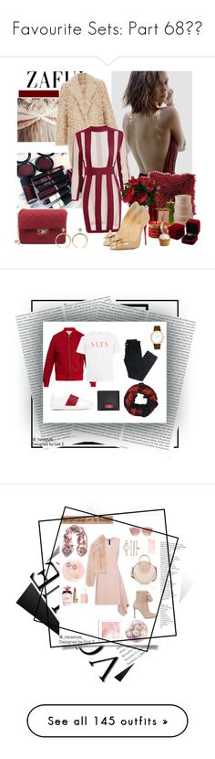 """""""Favourite Sets: Part 68❣️"""" by moon-crystal-wolf ❤ liked on Polyvore featuring Elizabeth and James, BrylaneHome, Christian Louboutin, Lily-Flame, Crate and Barrel, Oris, Valentino, Larsson & Jennings, men's fashion and menswear"""
