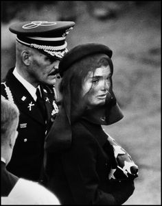 Talking Photography With Elliott Erwitt - NYTimes.com Jacqueline Kennedy Arlington National Venetary, 1964