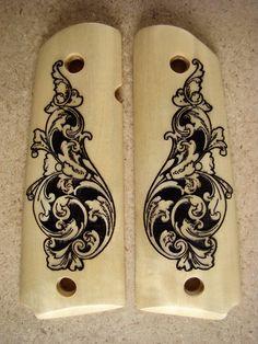 1911 Full #3 ivory wood
