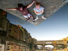 Are these men falling? See more photgraphs with different Point-of-View