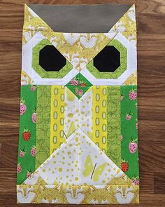 Allie the Owl | Starting to cut the pieces for my daughter's… | Flickr