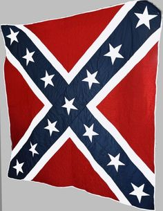 Handmade confederate flag quilt $500 00 Chevron Quilt Pattern, Patchwork Quilt Patterns, Applique Quilts, House Quilt Block, House Quilts, Flag Quilt, Star Quilts, Granny Square Quilt, Pattern Images
