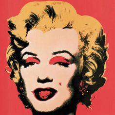 Andy Warhol - Marilyn rouge 1967