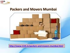 11th.in Presents Packers and Movers in Mumbai with Affordable price.