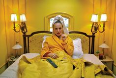 the interiors of wes anderson : hôtel chevalier