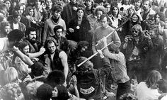 Hell's Angels at Altamont, 1969