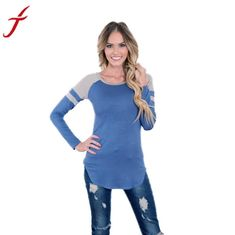Loose Long Sleeve Pullover 3 Colors - American Blue Belle Boutique