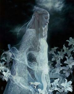 Galadriel - The Lord of the Rings - David Stoupakis Thranduil, Legolas, Das Silmarillion, Wicca, O Hobbit, Into The West, Elvish, Jrr Tolkien, Dark Lord