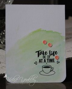 On The Fringe: Summer Coffee Lovers Blog Hop - One Cup at a Time!