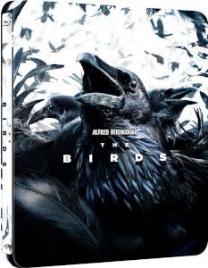 Alfred Hitchcock's 'The Birds' anniversary limited edition steelbook bluray from Zavvi for Features include: Alfred Hitchcock The Birds, 1980's Movies, Film Posters, Storyboard, Pop Culture, Batman, Anniversary, Scene, Superhero