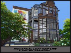 Industrial Loft-new line by Danuta720 at TSR via Sims 4 Updates