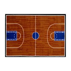 Basketball Court Kids Rugs Carpet Size 39 x 58 inch Sport Design 1531-GI-10-3958 #DalynRug