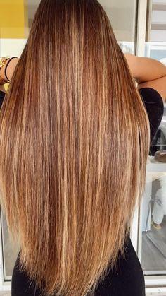 Copper Blonde Balayage, Red Balayage Hair, Balayage Straight Hair, Balayage Brunette, Carmel Hair Color, Hair Color Auburn, Red Hair Color, Hair Colours, Short Shag Hairstyles