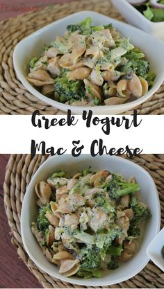Oh my God, this Greek Yogurt Mac & Cheese with Chicken and Broccoli is AMAZING! I want to eat this every day! Plus, it's clean eating and 21 Day Fix friendly! An awesome healthy dinner that is super simple and fast to make!