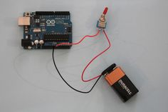 power arduino with batter