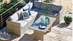 Belbora 3 Piece Corner Modular Dining Setting - Outdoor Dining - Outdoor Living - Furniture, Outdoor & BBQs | Harvey Norman Australia