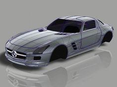 Mercedes 3D Alias Model