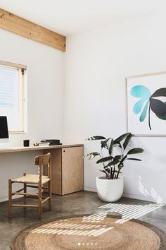 Designed by Børge Mogensen in is a versatile masterpiece crafted from solid wood, featuring a hand-woven seat in natural paper cord. Image via derek_swalwell Grease Stains, Wood Oil, Wood Surface, Painting On Wood, Your Space, Home Office, Solid Wood, Cord, Hand Weaving