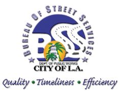City of Los Angeles Department of Public Works Bureau of Street Services. Visit our website for more information and any service requests.