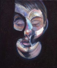 View Portrait of Lucian Freud by Francis Bacon on artnet. Browse more artworks Francis Bacon from Richard Nathanson Impressionist Century Art. Lucian Freud, Digital Portrait, Portrait Art, Portrait Paintings, Francis Bacon Pope, Francis Bacon Self Portrait, Statues, Painting & Drawing, Oil On Canvas