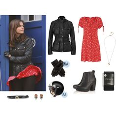 Clara Oswald - The Day of the Doctor (Motorcycle Outfits)