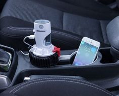 Back to the Future Mr. Fusion Car Charger Fits Standard Car Cup Holder