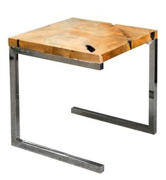 #OutdoorTables #SideTables - Recycled Teak Side Table - Segals Outdoor Furniture