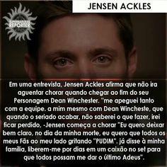 No matter where you come from, what language you speak, Jensen Ackles. Dean Winchester, Jensen Ackles, Supernatural Memes, Icarly, Little Liars, Castiel, Teen Wolf, Humor, Language