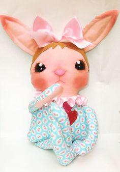 Art Doll Pattern PDF DIY  Bunny  sewing  free by ArtistaToscana, $10.00
