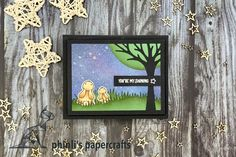 Shining Star, The Shining, Lawn Fawn, Cardmaking, Friendship, Bunny, Sparkle, Paper Crafts, Led